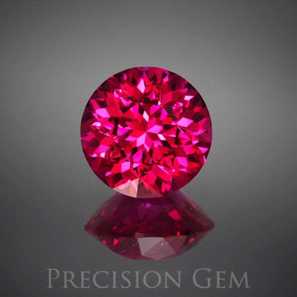 Gem 2269 Red Spinel Lab Created